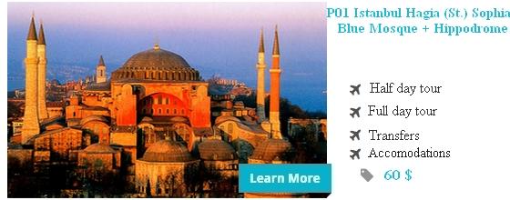 P01 Istanbul Hagia (St.) Sophia + Blue Mosque + Hippodrome